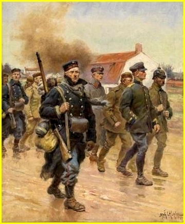 German soldiers 1914
